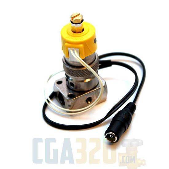 Picture of CO2 Regulator Solenoid with 15490-5 manifold (24V)