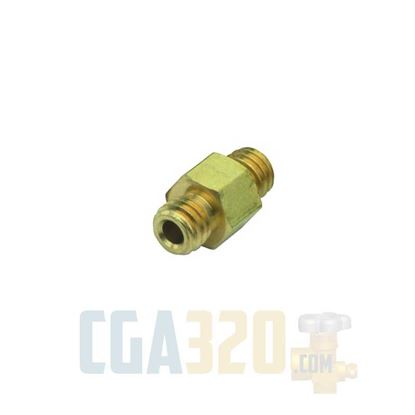 Picture of #10-32 Coupler Brass